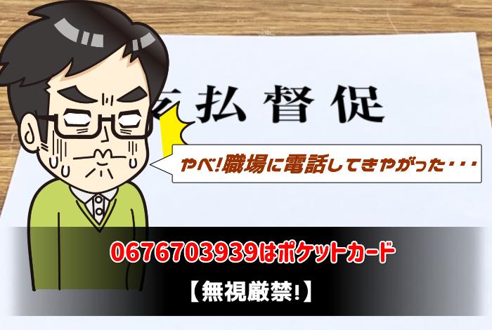 0676703939はポケットカード
