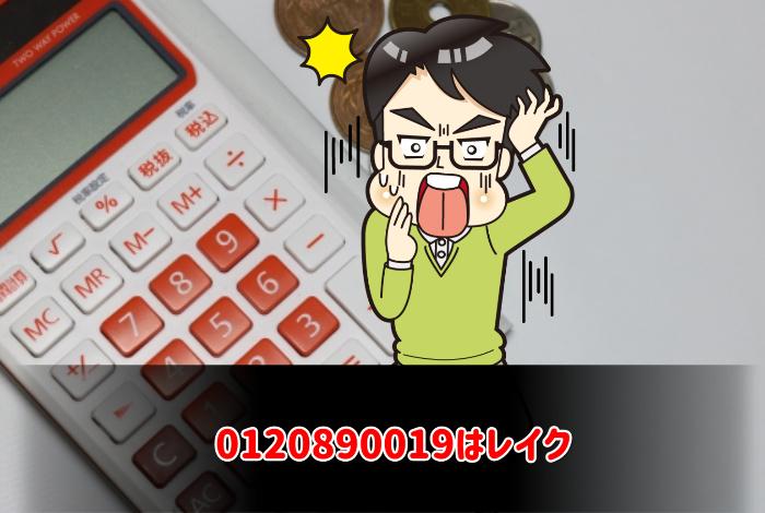 0120890019はレイク