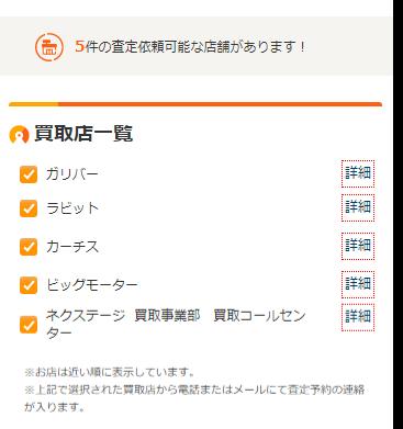 福島でカーセンサー査定を試した結果