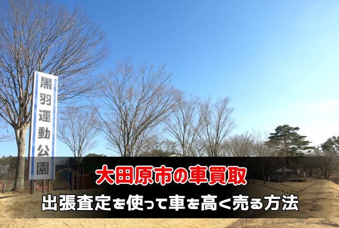大田原市で車買取業者に出張査定を使って車を高く売る方法:サムネイル