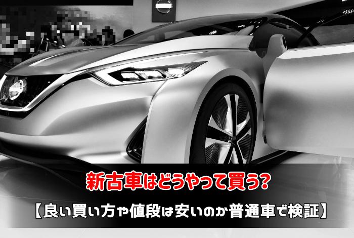新古車はどうやって買う?:サムネイル